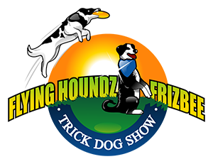 Flying Houndz Frizbee Trick Dog Show